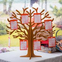 Необычный аксессуар на современной свадьбе - дерево для пожеланий и рассадки гостей.