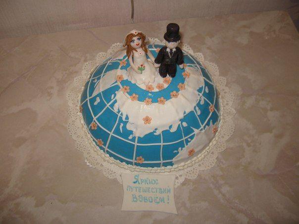 Фото 2688727 в коллекции Мои фотографии - Свадебные торты свадебного агентства Забава