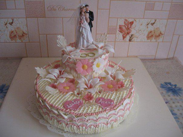 Фото 2688757 в коллекции Мои фотографии - Свадебные торты свадебного агентства Забава