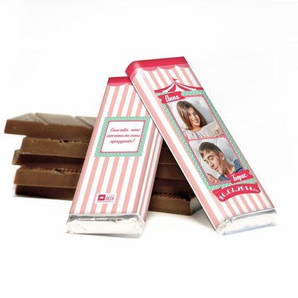 Шоколад  с вашим дизайном или фото