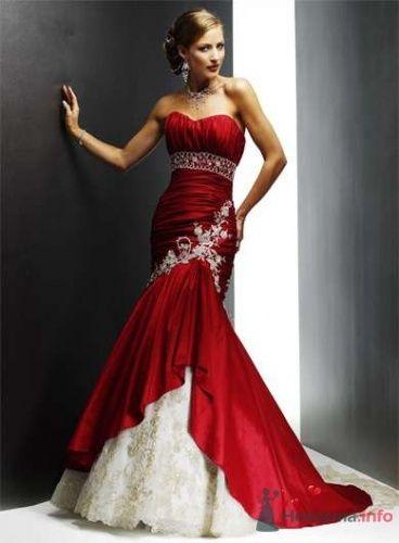 Фото 16282 в коллекции Красное свадебное платье - Невеста01