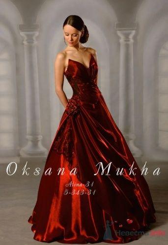 Фото 16284 в коллекции Красное свадебное платье - Невеста01