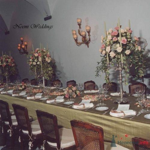 Фото 16412 в коллекции Flower design - Noemi Weddings - организация свадеб в Италии