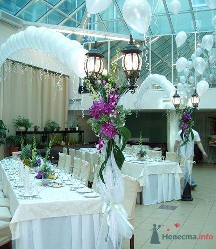 оформление свадьбы цветами и шарами - фото 16602 Бизнес Нюанс BN4 - оформление свадеб