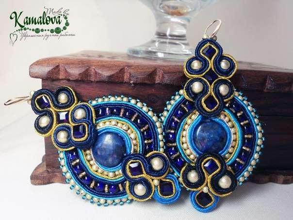 Фото 10304470 в коллекции Портфолио - Made by Kamalova сутажные украшения