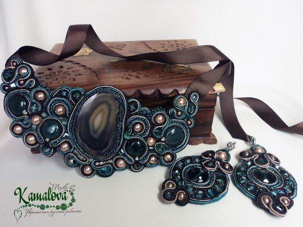 Фото 10304502 в коллекции Портфолио - Made by Kamalova сутажные украшения