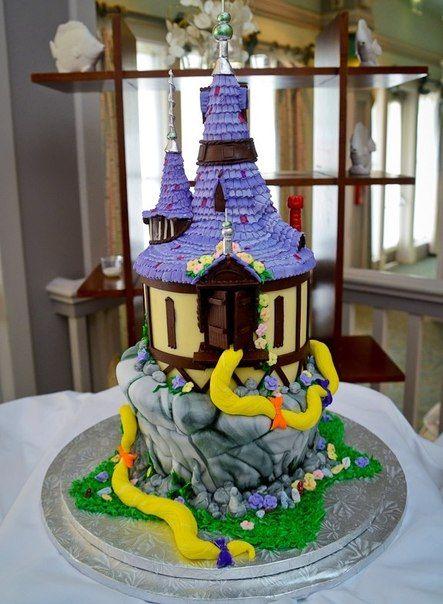 фотобашни торта рапунцель
