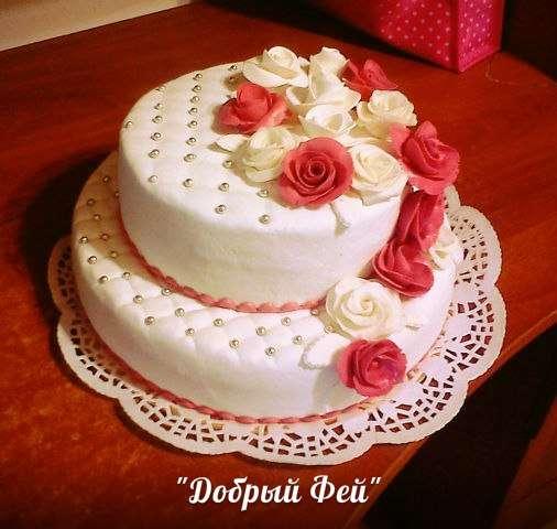 Фото 2762881 в коллекции свадебный торт - Добрый Фей - организация свадьбы
