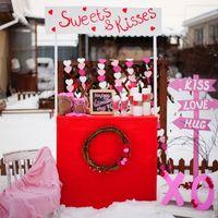 """Фотозона """"Sweet's & Kisses"""" Стоимость аренды 2000 рублей."""