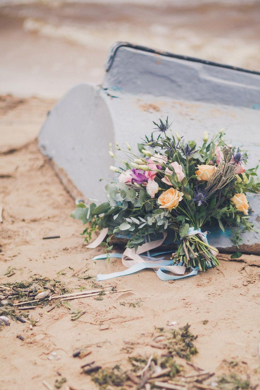 """Букет невесты """"Шум моря"""""""