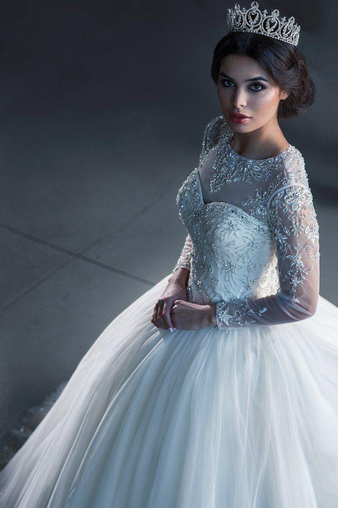 Свадебное платье пышное ТМ Love Bridal (Англия)  ✔ Размер:  40-42  - фото 11391362 Свадебный салон Formarriage