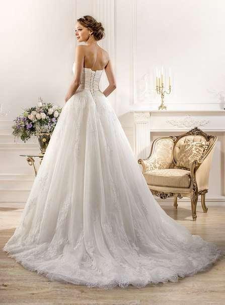 Свадебное платье А-силуэта ТМ Naviblue Bridal (США)   - фото 11391758 Свадебный салон Formarriage