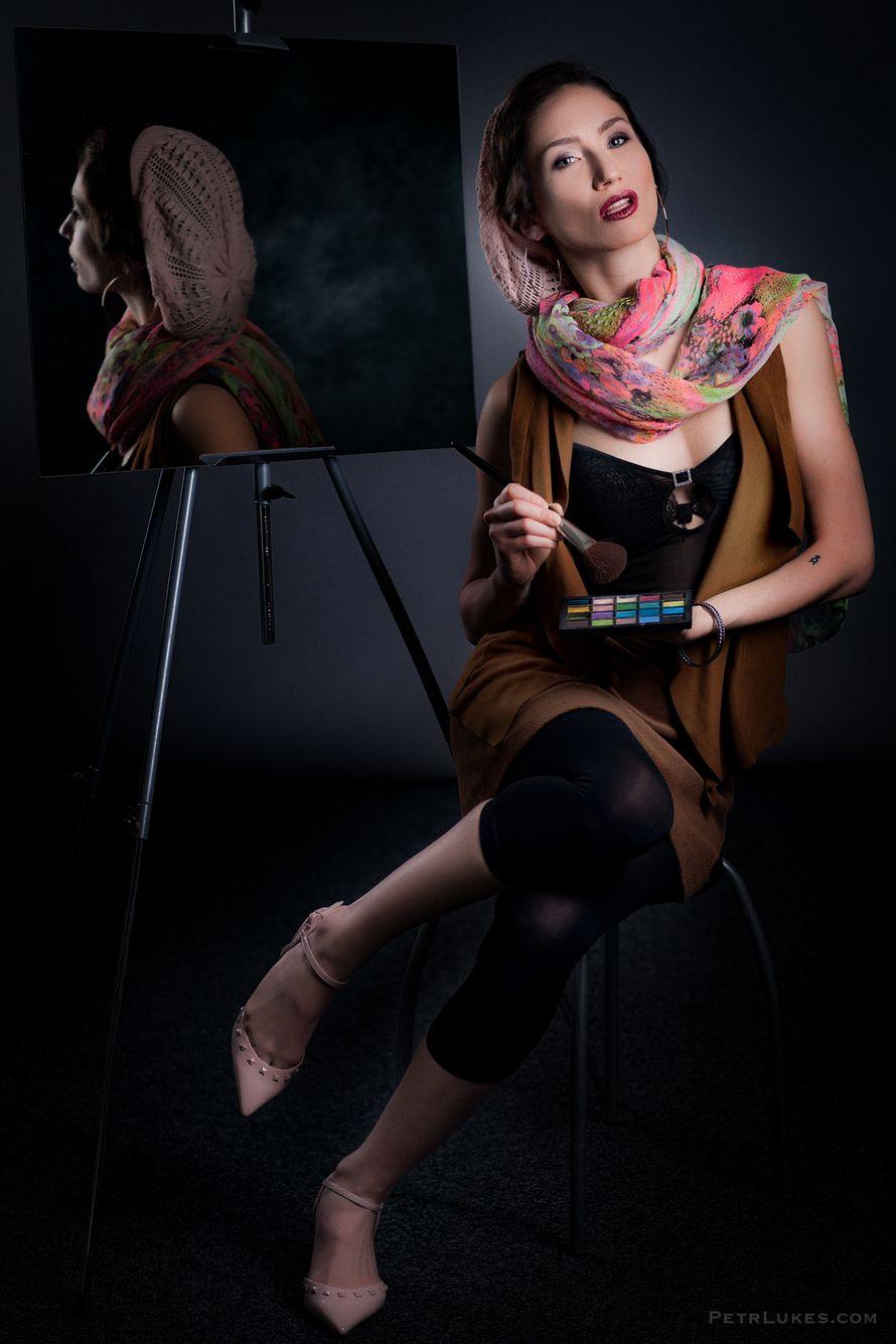 Визажист в Праге Анжела Блазински  Свадебный Макияж , вечерний макияж  make up Angelie Blazinski  - фото 14568724 Визажист Angelie Blazinski