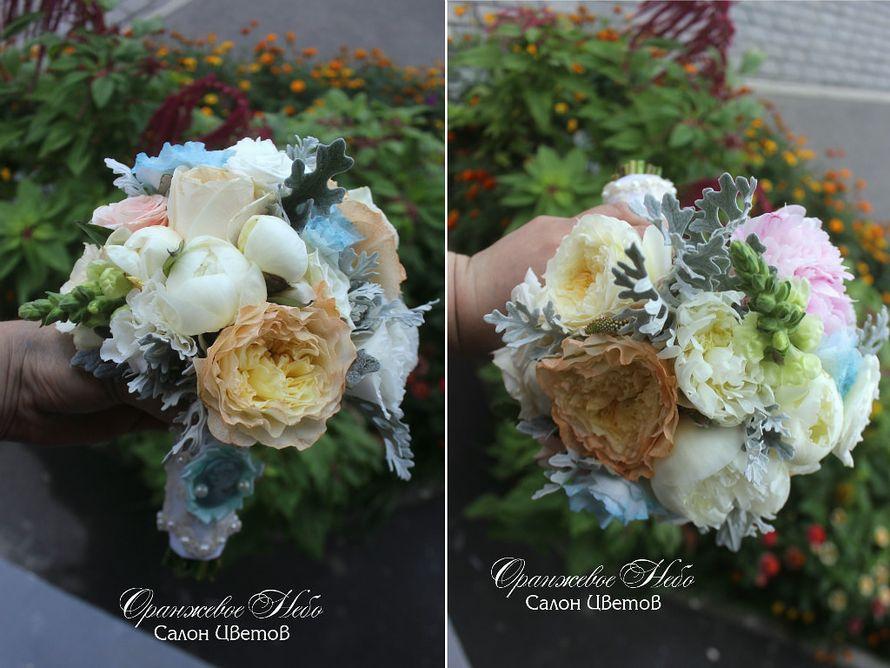 Королевский букет Невесты из пионов и пионовидных роз! - фото 2838567 Студия флористики и декора Оранжевое Небо