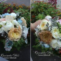 Королевский букет Невесты из пионов и пионовидных роз!