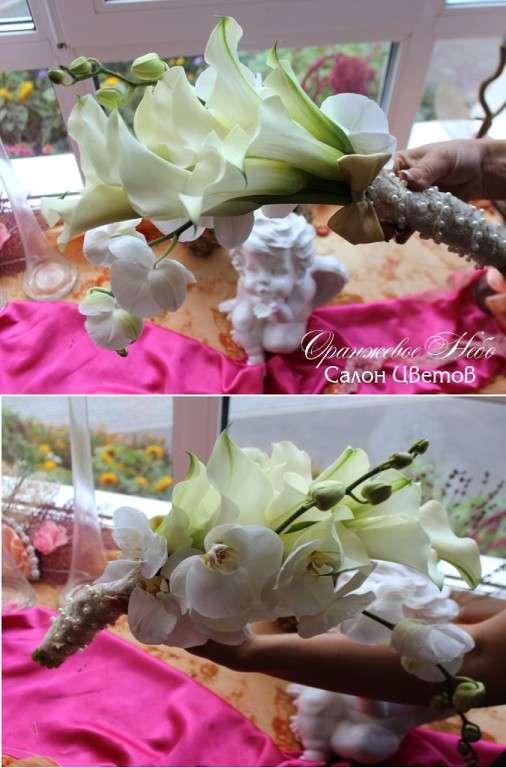 Букет  Невесты из калл и орхидеи фаленопсис! - фото 2838581 Студия флористики и декора Оранжевое Небо