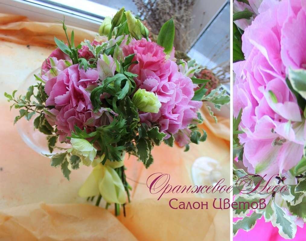 Анемоны и гортензия - фото 2929751 Студия флористики и декора Оранжевое Небо
