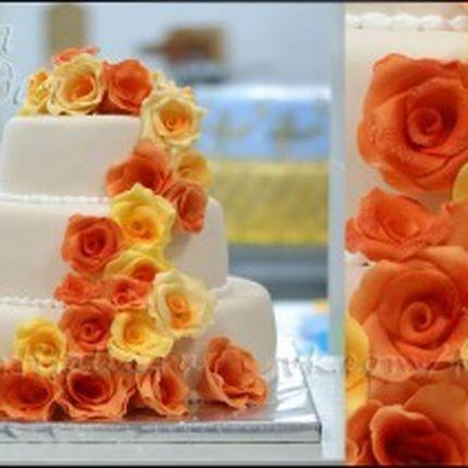 Оранжевые Розы, 1 кг