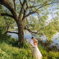 фотосеессия с деревом у озера  в стиле шебби шик и прованс