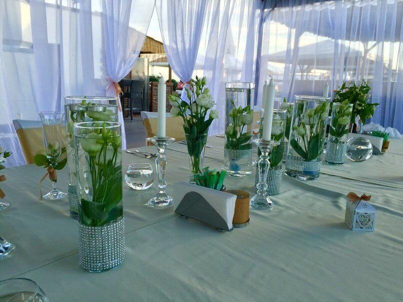 На летней террасе, классическое белое оформление - фото 11036930 Студия декора Rizi