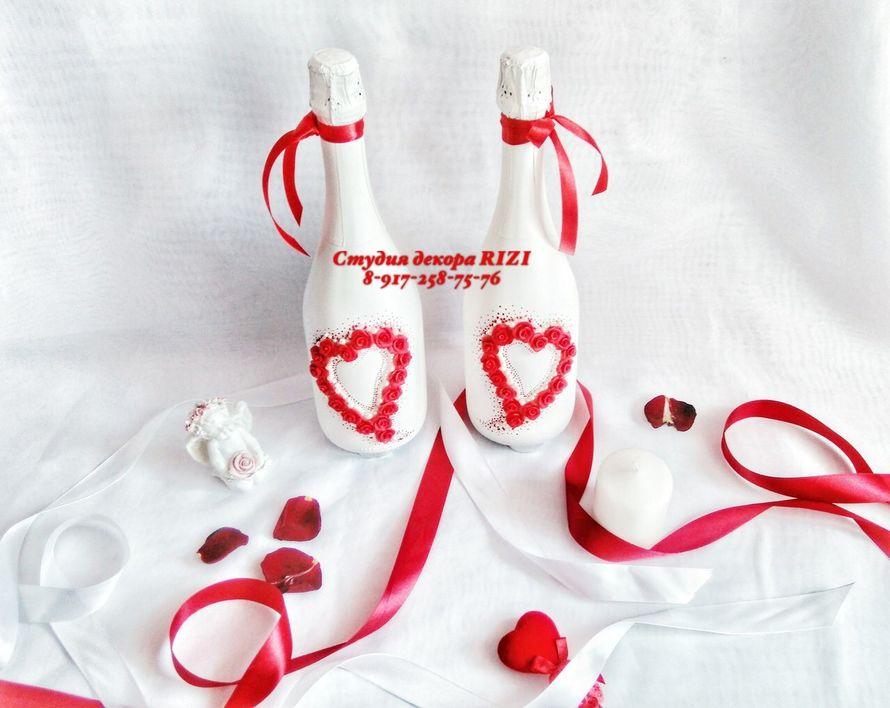 Свадебные аксессуары в красном цвете - фото 11465488 Студия декора Rizi