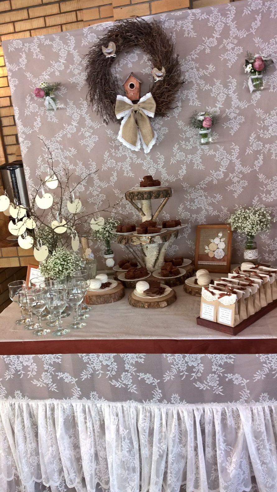 Свадьба в стиле рустик - фото 11926096 Студия декора Rizi