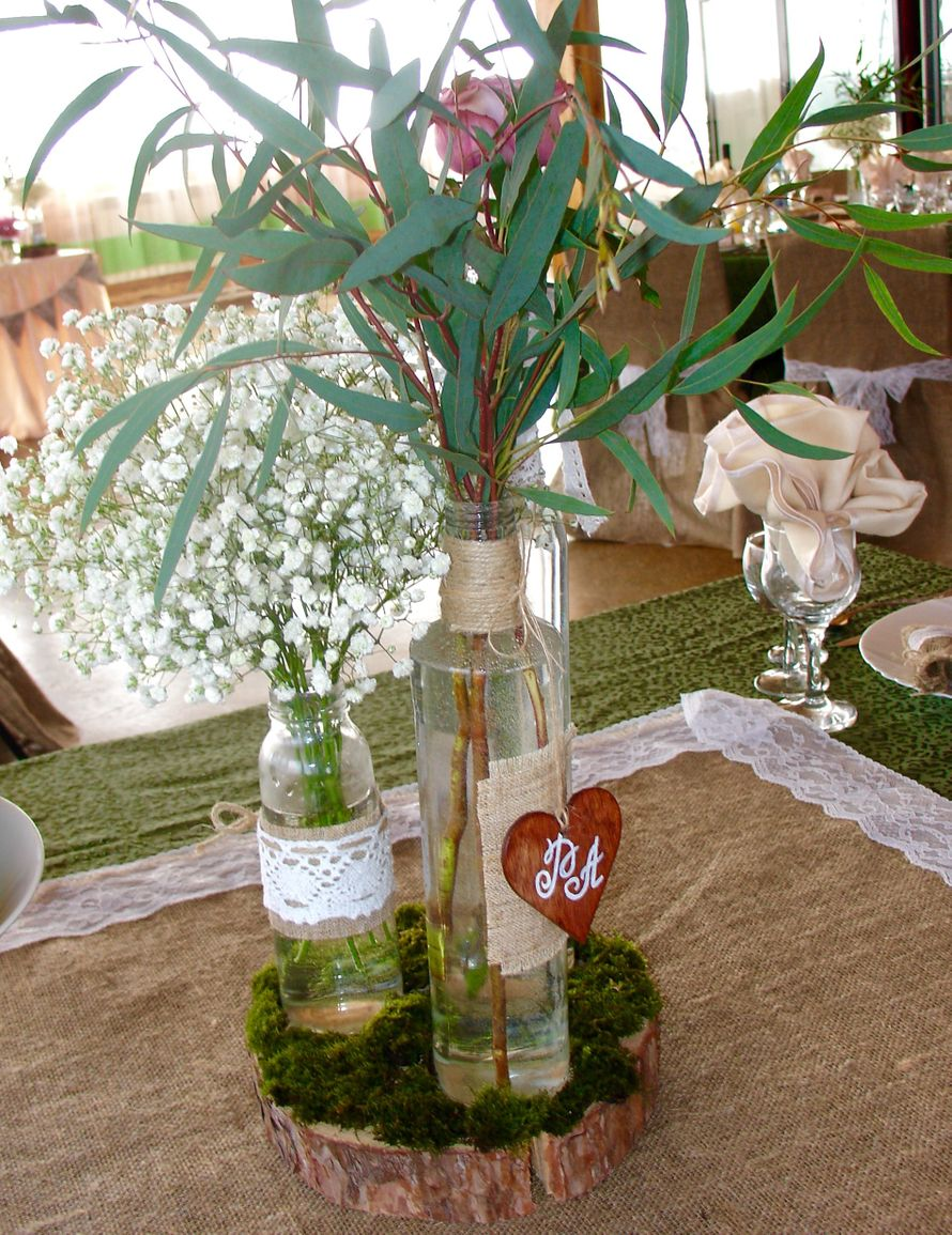 Свадьба в стиле рустик - фото 11926104 Студия декора Rizi