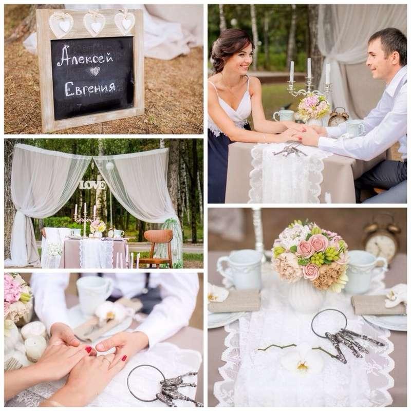 оформление фотосессии для  Алексея и Евгении - фото 2923367 IdeaFlor Decor - свадебный декор