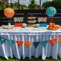 Сладкий стол на свадьбе / Candy bar