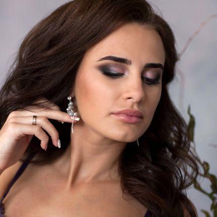 Вечерний образ - прическа и макияж