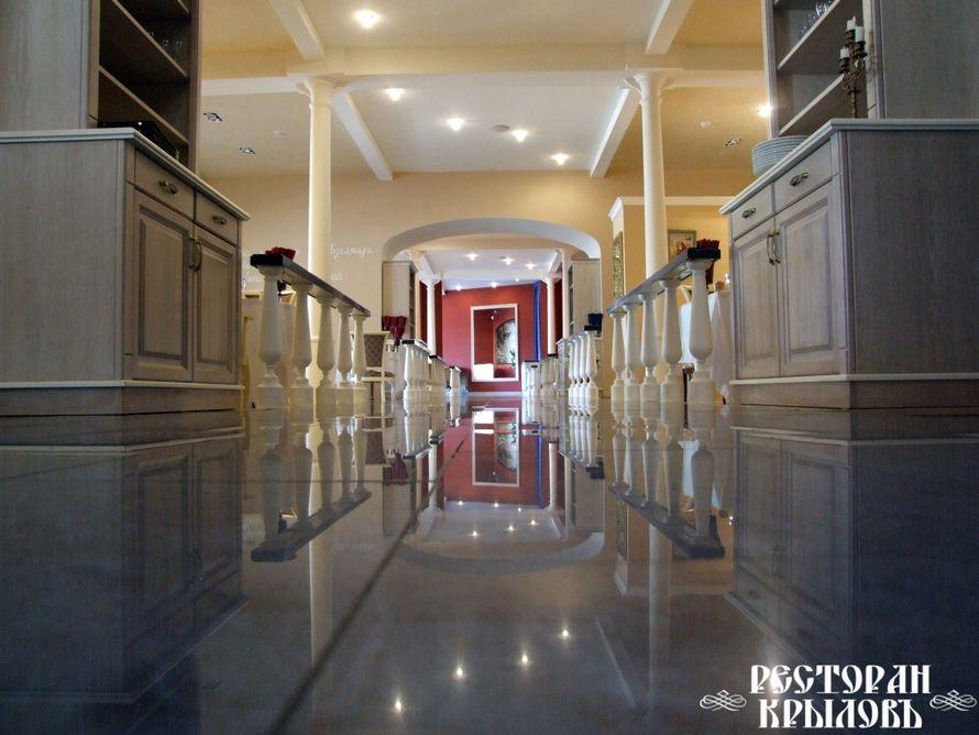 Просторные залы. На первом этаже имеется подиум! - фото 2898635 Ресторан Крыловъ