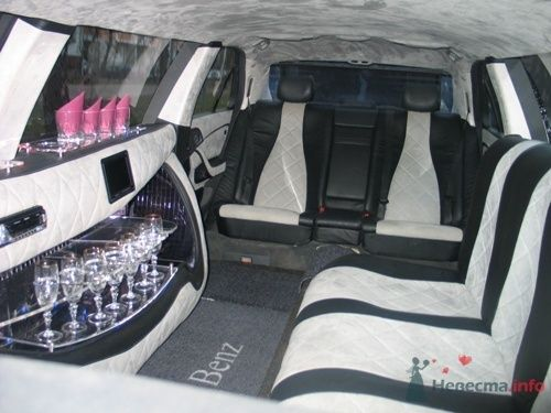 салон Мерседес лимузин - фото 78310 Невеста01