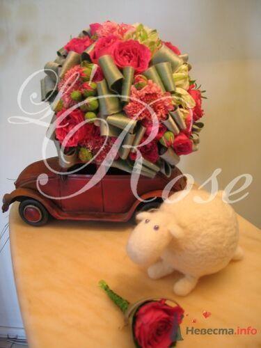 """Фото 17842 в коллекции Свадебные букеты, аксессуары - Галерея цветов """"L'Rose"""""""