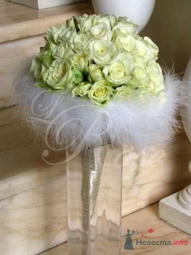"""Фото 17858 в коллекции Свадебные букеты, аксессуары - Галерея цветов """"L'Rose"""""""