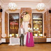 """Свадьба в стиле """"Счастливые часы"""" Организатор Мария Захарова"""