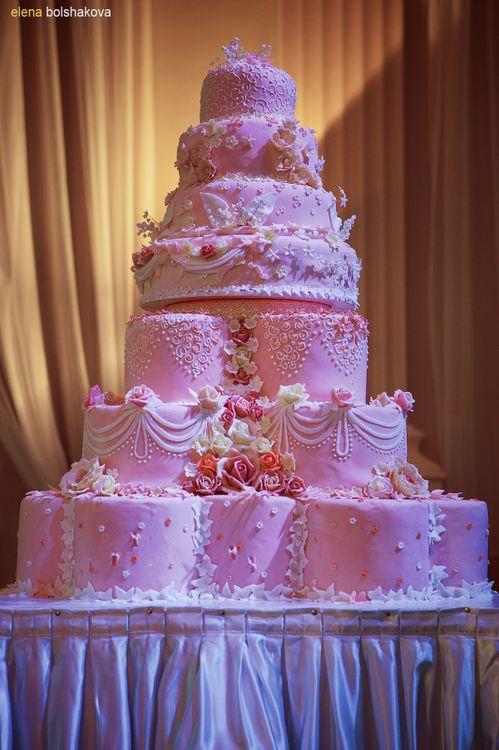Где заказать вкусный свадебный торт