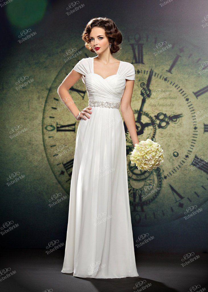 """Прямое платье в греческом стиле с лифом с драпировкой крест-накрест, на широких бретелях - фото 2972285 Салон свадебной и вечерней моды """"Белый Танец"""""""