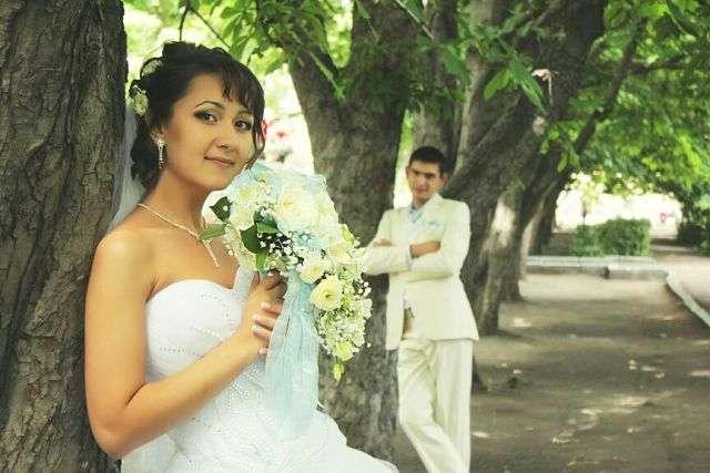 свадьба в стиле тиффани - фото 2972619 Визажист Людмила Багарян