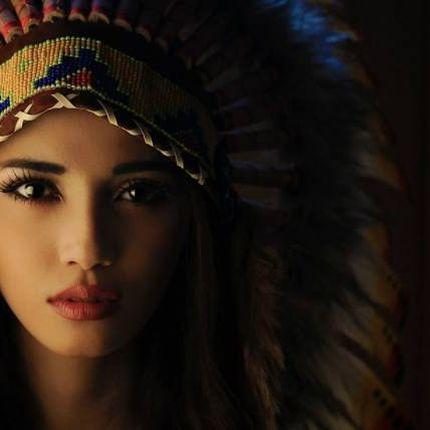 Фотосессия в индейском роуче