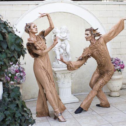 Живые статуи - шоу