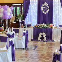 Фиолетовое оформление