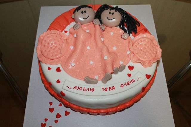 Торт на годовщину свадьбы фото из мастики