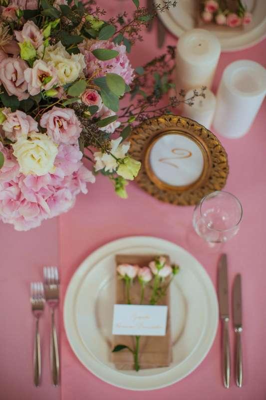"""Фото 17046018 в коллекции Свадьба Александра и Екатерины """"Rose & Gold"""" 15.07.15 - Студия декора и флористики Page of love"""