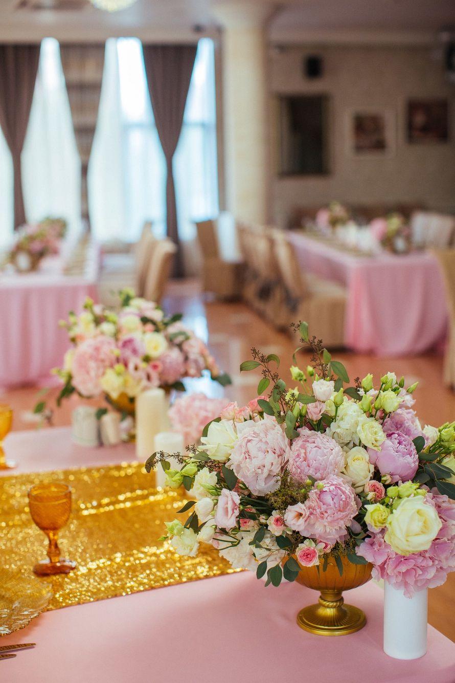"""Фото 17046030 в коллекции Свадьба Александра и Екатерины """"Rose & Gold"""" 15.07.15 - Студия декора и флористики Page of love"""