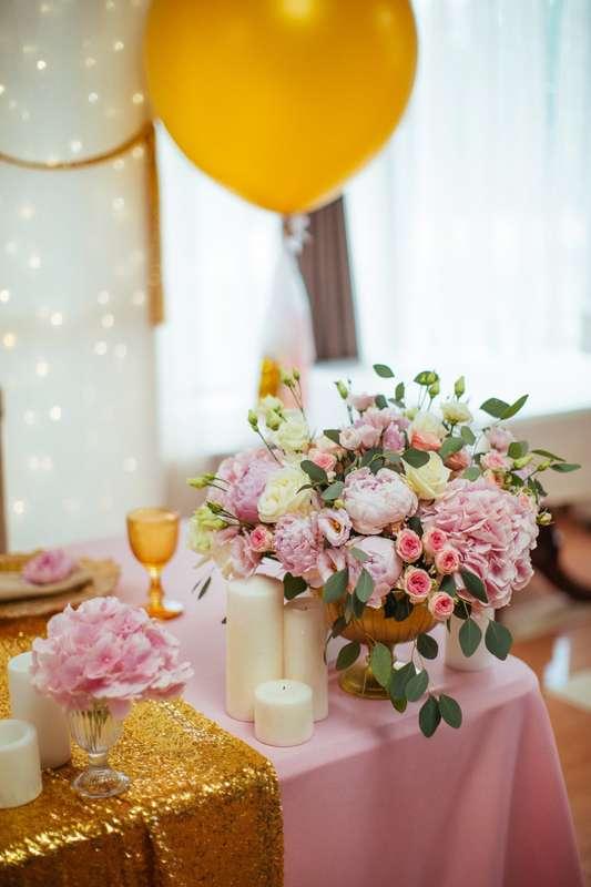"""Фото 17046044 в коллекции Свадьба Александра и Екатерины """"Rose & Gold"""" 15.07.15 - Студия декора и флористики Page of love"""