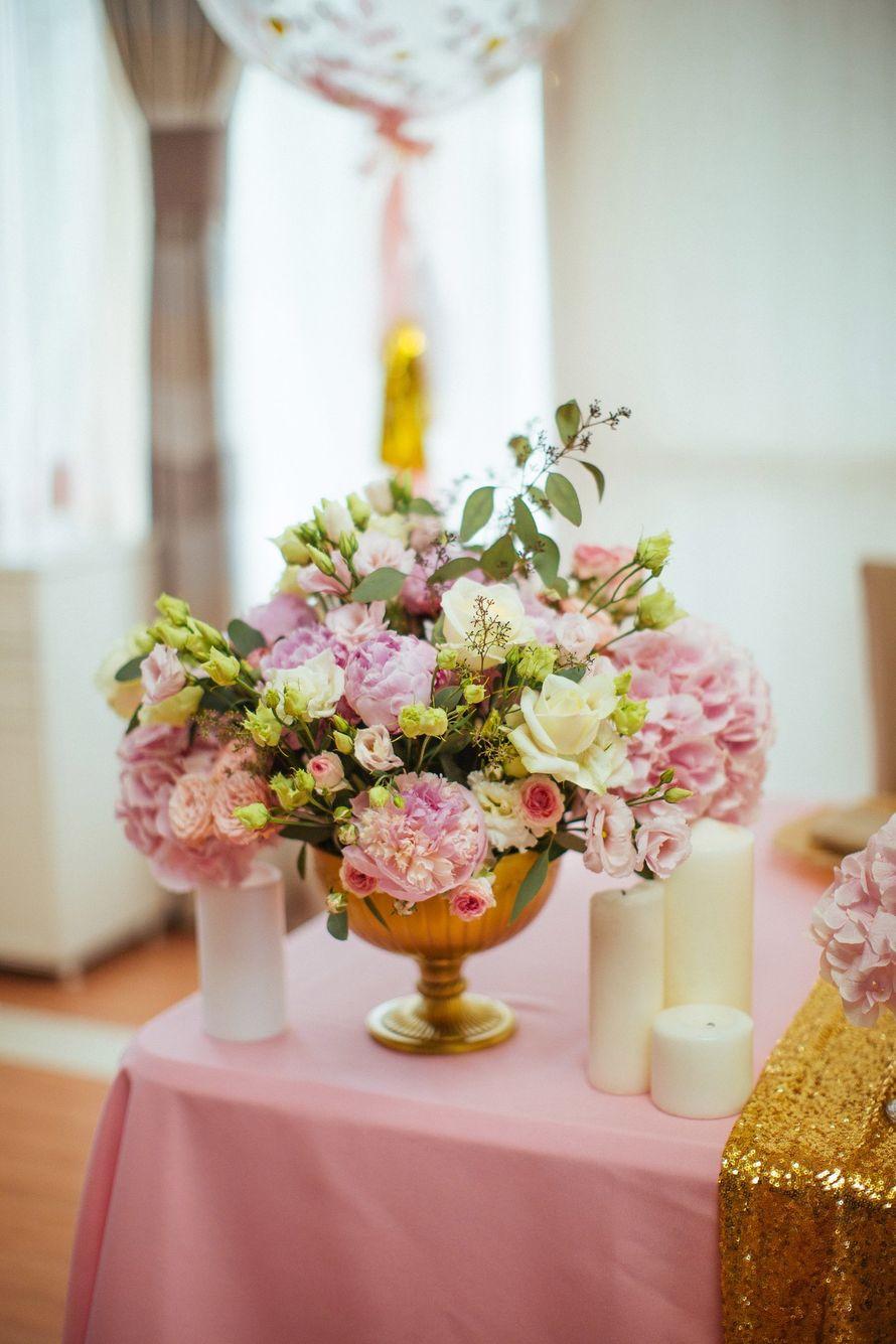 """Фото 17046046 в коллекции Свадьба Александра и Екатерины """"Rose & Gold"""" 15.07.15 - Студия декора и флористики Page of love"""