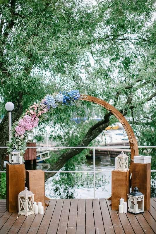 """Фото 17046072 в коллекции Свадьба Никиты и Екатерины 04.08.17 """"Ombre Wedding"""" - Студия декора и флористики Page of love"""