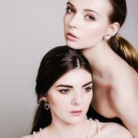 Нюд лук. Нейтральный макияж для фотопроекта. Фотограф: Анастасия Боа Визажист: Виктория Свинтицкая