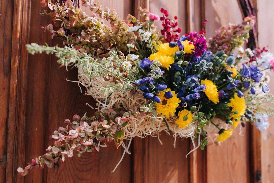 Фото 6991618 в коллекции Рустикальная свадьба - Jane shemis - флористика и декор