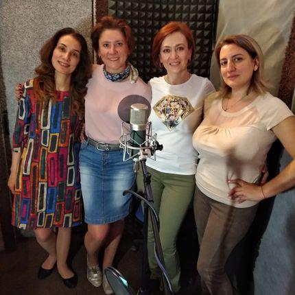 Девичник с подругами на студии звукозаписи - аренда студии